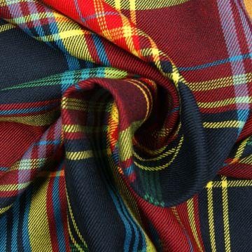 Schotse ruit rood/geel/blauw