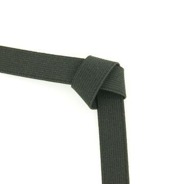 Taille elastiek zwart 15mm