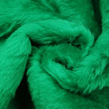 Pluche/teddy groen kort