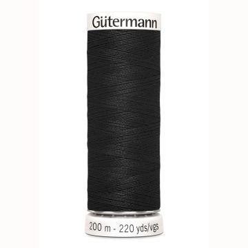 Gütermann naaigaren 200mtr zwart nr.000