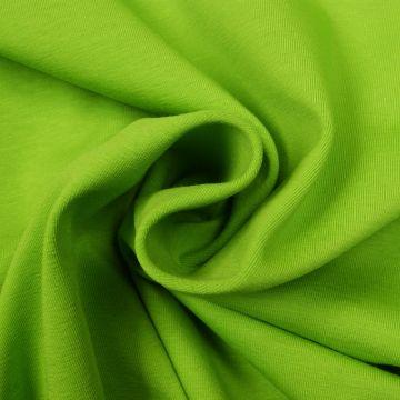 Uni tricot katoen lime