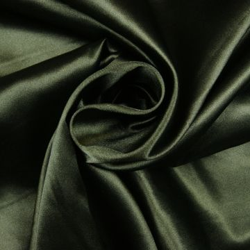 Satin Stretch dunkelgrün