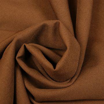 Texturé bruin 280cm breed brandvertragend + certificaat (30mtr)