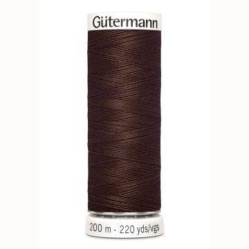Gütermann naaigaren 200mtr midden bruin nr.694