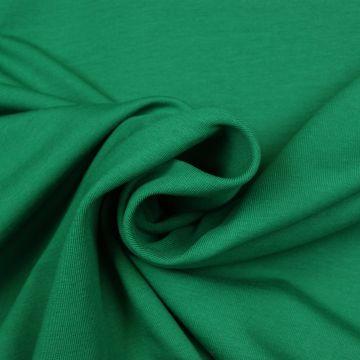 Uni tricot katoen groen