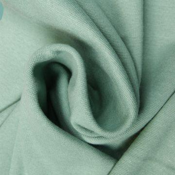 Boordstof tricot oud groen smal