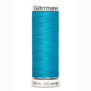 Gütermann naaigaren 200mtr turqoise nr.736