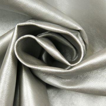 Kunstleder silber