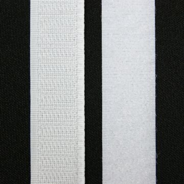 Klittenband wit 20mm