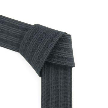 Taille elastiek zwart 30mm