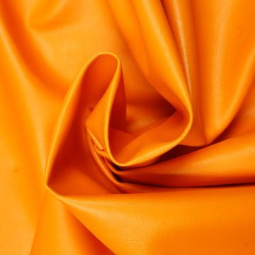 Kunstleder orange