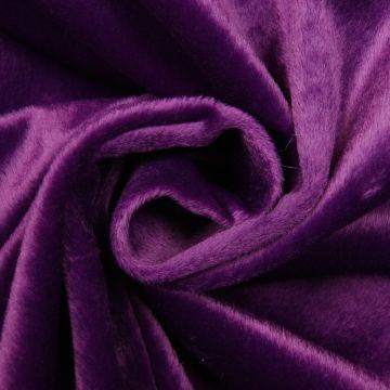 Samt Polyester purpur