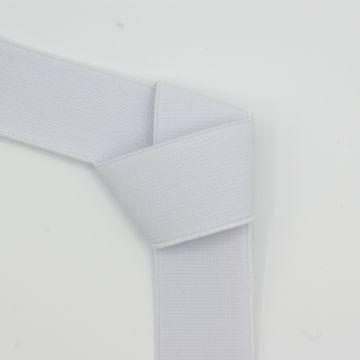 Taille elastiek wit 30mm