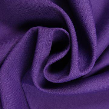 Brandhemmender Stoff purpur 280cm breit + Zertifikat