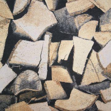 Dekostoff  Brennholz