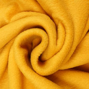 Fleece ockergelb