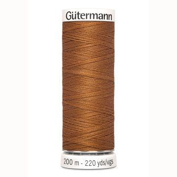 Gütermann naaigaren 200mtr licht bruin nr.448