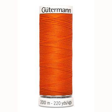 Gütermann naaigaren 200mtr oranje nr.351