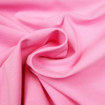 Uni tricot katoen roze