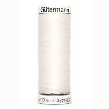 Gütermann naaigaren 200mtr ivoor nr.111