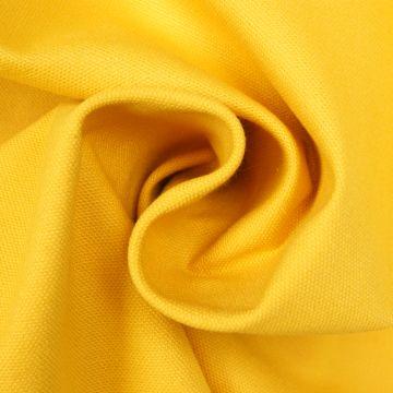 Brandhemmender Stoff gelb 280cm breit + Zertifikat