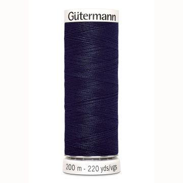 Gütermann naaigaren 200mtr donker blauw nr.339