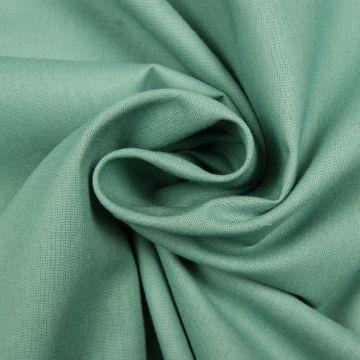 Baumwolle  altgrün uni 100%