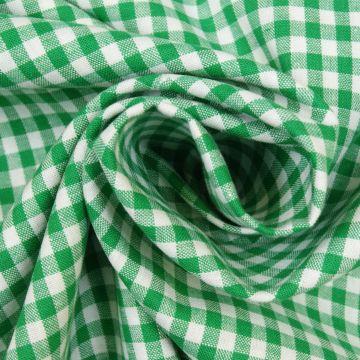 Boerenbont groen ruit 5mm