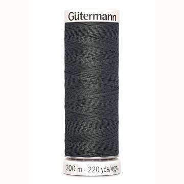 Gütermann naaigaren 200mtr donker grijs nr.36
