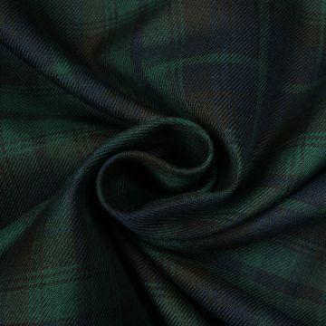 Schotse ruit blauw/groen