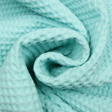 Waffeltuch minze 100% Baumwolle doppelfädig