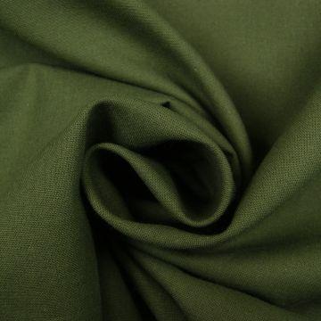 Baumwolle Armee grün uni 100%