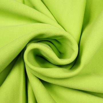 Joggingstof stretch lime