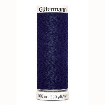 Gütermann naaigaren 200mtr donker blauw nr.310