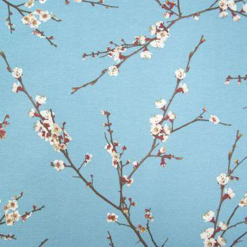 Dekostoff  Japanische Blüte
