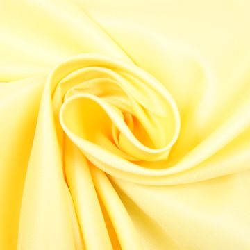Uni tricot viscose pastel-geel
