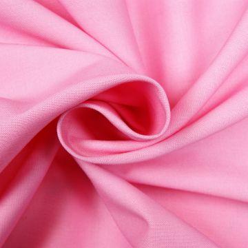 Katoen roze uni 100%