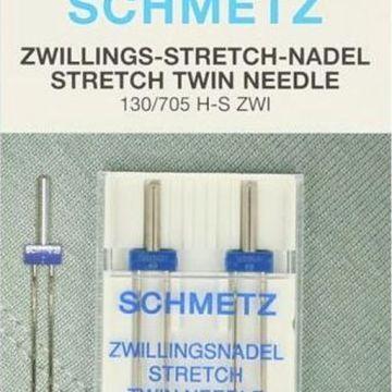 Machinenaalden Schmetz Tweelingnaald 4,0/75 dubbel