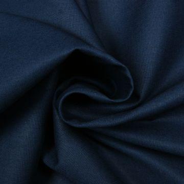 Lakenkatoen donkerblauw 240cm breed