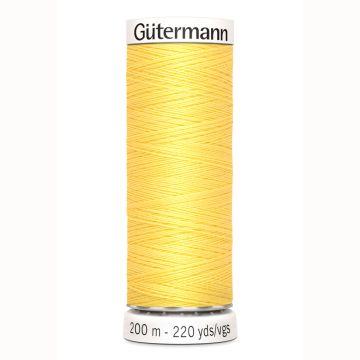 Gütermann naaigaren 200mtr geel nr.852