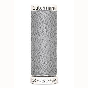 Gütermann naaigaren 200mtr licht grijs nr.38