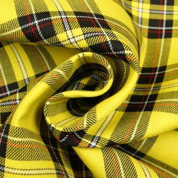 Schotse ruit geel