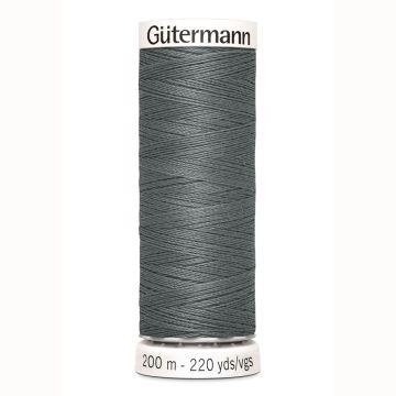 Gütermann naaigaren 200mtr donker grijs nr.701