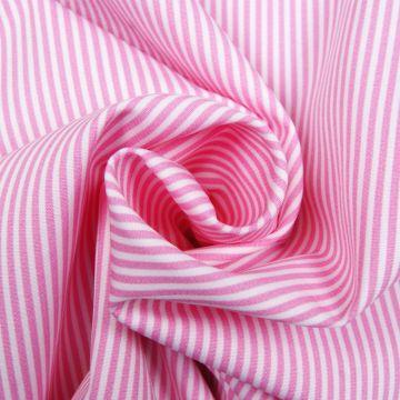 Boerenbont roze streep 2mm