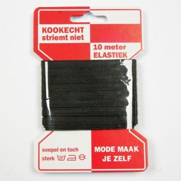 Elastisches Wäschegummi schwarz 5mm