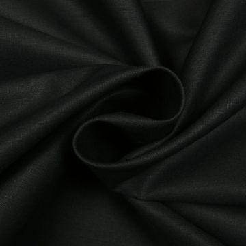 Lakenkatoen zwart 240cm breed