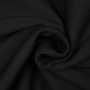 Texturé zwart 280cm breed brandvertragend + certificaat (30mtr)