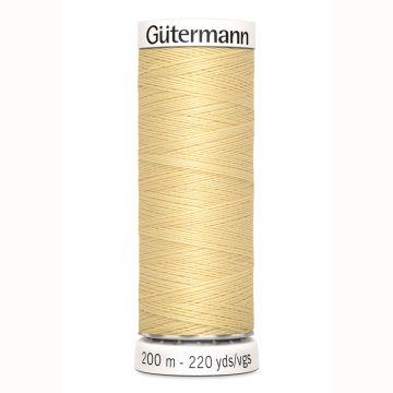 Gütermann naaigaren 200mtr licht geel nr.325