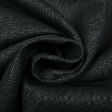 Leinen gewaschen schwarz