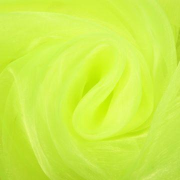 Organza fluor-lime